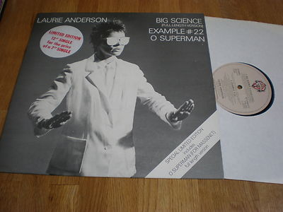 laurie big and beautiful singles Laurie anderson big science big science (the eight-plus-minute single o superman was a chart hit in england and the strangely beautiful title track.