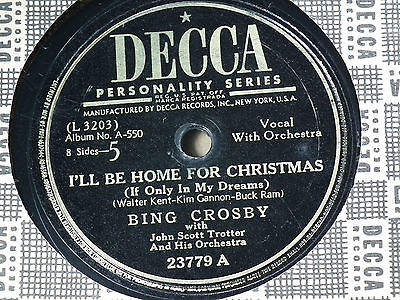 78 record bing crosby i ll be home - Bing Crosby I Ll Be Home For Christmas