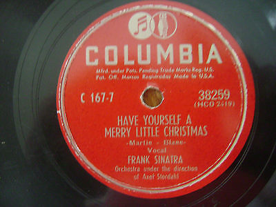 Frank Sinatra Have Yourself A Merry Little Christmas.Roots Vinyl Guide