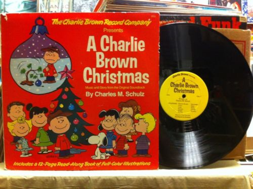 A Charlie Brown Christmas Book.Roots Vinyl Guide