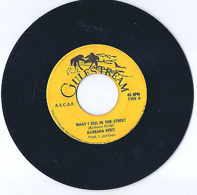 Barbara-king-what-i-did-in-the-street-gulfstream-miami-60-s-funk-og-vg-listen_12968555