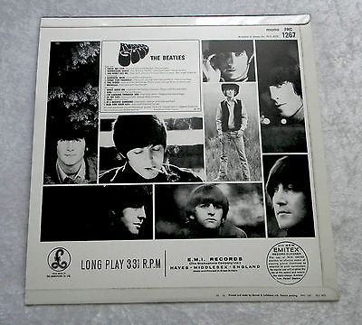 1965 The Beatles Rubber Soul Release Metal Sign Vintage Look Reproduction