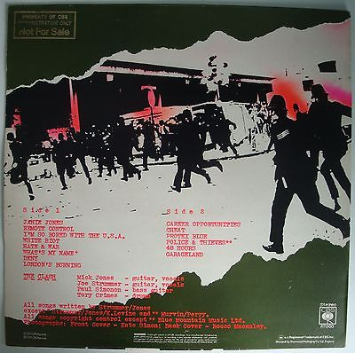 Clash-first-lp-gold-stamp-promo-first-pressing-1977-with-red-sticker-inner-rare_6598973