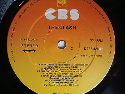 Clash-first-lp-gold-stamp-promo-first-pressing-1977-with-red-sticker-inner-rare_6599008