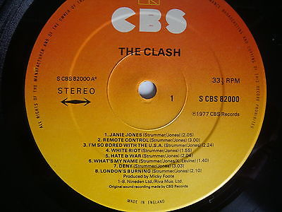Clash-first-lp-gold-stamp-promo-first-pressing-1977-with-red-sticker-inner-rare_6599014