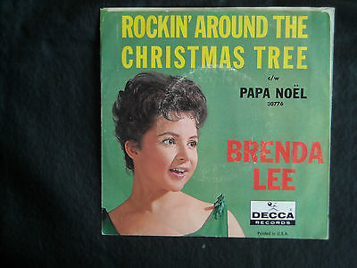 Rockin Around The Christmas Tree Brenda Lee.Roots Vinyl Guide