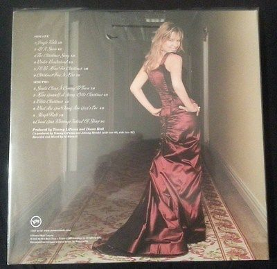diana krall christmas songs classic records colored vinyl - Diana Krall Christmas Songs