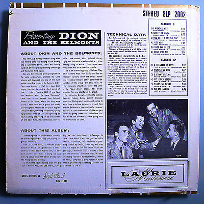 Dion-belmonts-presenting-insanely-rare-orig-59-laurie-stereo-lp-mint_5292234