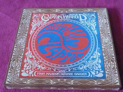 Eric Clapton Steve Winwood 3lp Boxset Live At Madison Square Garden Nr Mint