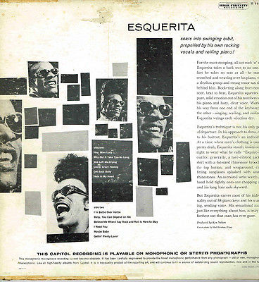 Image result for esquerita capitol lp