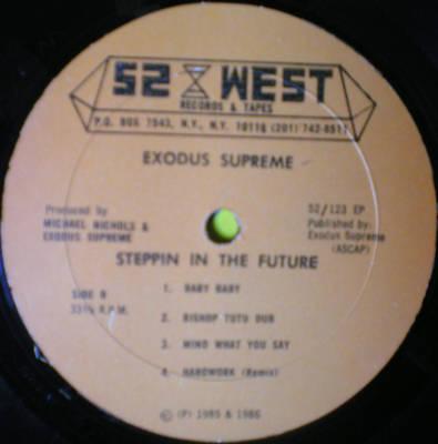 Exodus Supreme Steppin In The Future