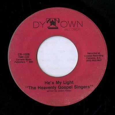 Heavenly-gospel-singers-he-s-my-light-black-gospel-45-dy-town-mp3_8175685