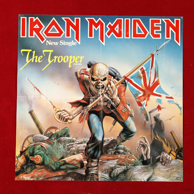 Iron Maiden The Trooper Shaped Picture Disc With