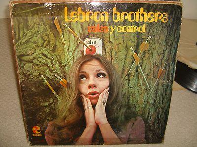 8e3bd4f428d0 Description Lebron Brothers - Salsa Y Control - Rare LP in Good++  Conditions Cotique Records (C-1049) 1970 Recording. No wrapper
