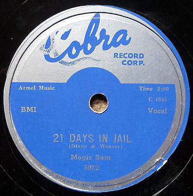 Magic Sam 21 Days In Jail