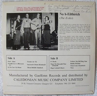 Na-h-eilthirich-the-exiles-gaelic-folk-lp-70s-insert-gaelfonn-kenna-campbell_10273677