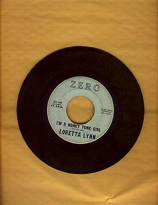 Original1960-loretta-lynn-first-record-on-zero-107-i-m-a-honky-tonk-girl-nice_10532839