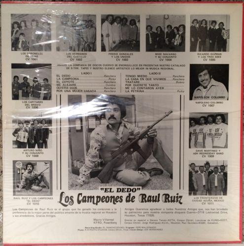 Raul-ruiz-y-los-campeones-el-dedo-lp-in-shrink-cuervo-records-tejano-tex-mex_12399388