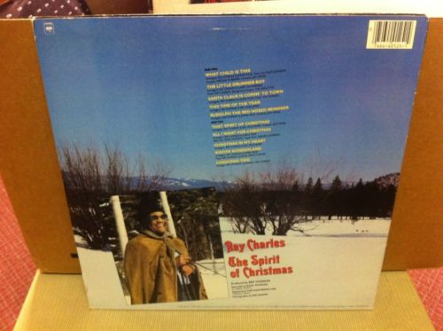 Ray Charles The Spirit Of Christmas Lp Nm_4812054