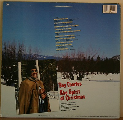 Ray Charles The Spirit Of Christmas Lp_3098142
