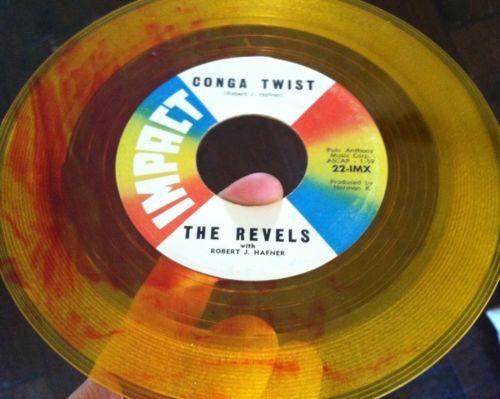 Revels-revillion-conga-twist-impact-7-yellow-red-swirl-colored-vinyl-record-45_5127012