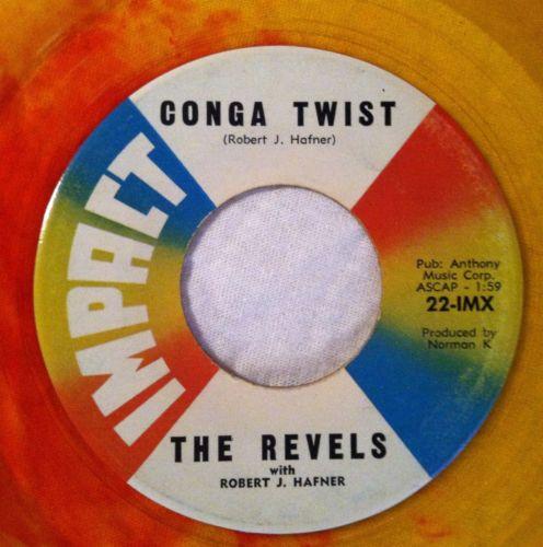 Revels-revillion-conga-twist-impact-7-yellow-red-swirl-colored-vinyl-record-45_5127016