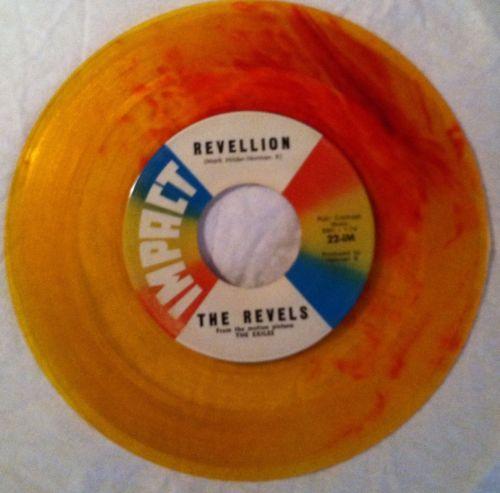 Revels-revillion-conga-twist-impact-7-yellow-red-swirl-colored-vinyl-record-45_5127023
