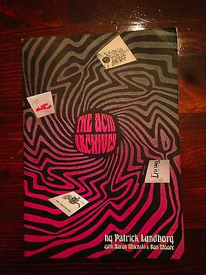 The Acid Archives First Edition 2006 Patrick Lundborg Al Guide Price 50 00 Usd