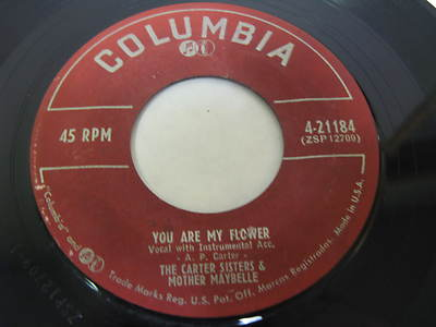 The-carter-sisters-mother-maybelle-45-record-4-21184-you-are-my-flower_3582237