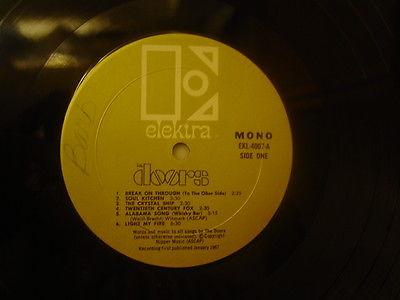 The-doors-lp-ekl-4007-1967-electra-rare- & Doors Lp Mono u0026 Strange Days Mono (VINYL LP) The Doors Sc 1 St AbeBooks