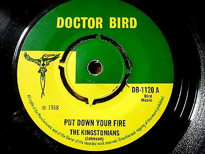 The-kingstonians-put-down-your-fire-doctor-bird-single-1968-ex_10986478