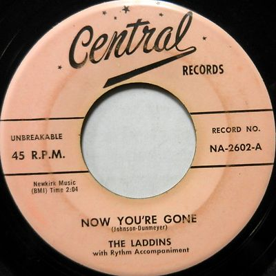 The Laddins - Did It - Now You're Gone
