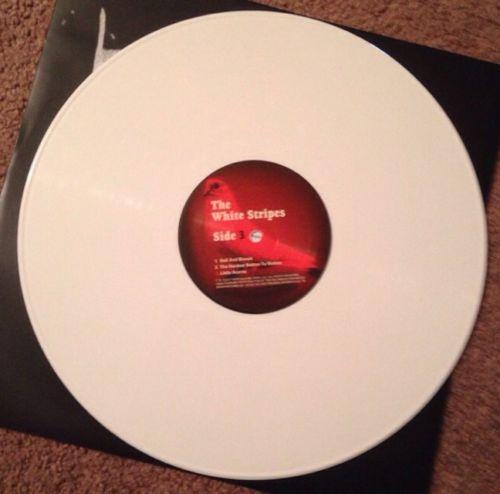 White Stripes Elephant Vinyl