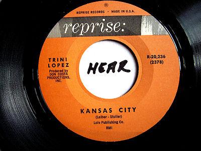 Trini Lopez Kansas City Lonesome Traveler