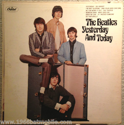 Unique Beatles Butcher Cover Capitol Unpeeled Mono Album