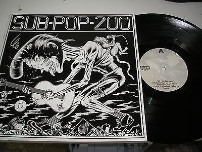 Sub Pop 200 Vinyl v a Sub Pop 200 Triple lp Box