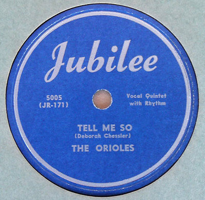 very-rare-the-orioles-78-rpm-tell-me-so-