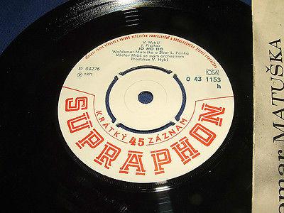 Vintage-1971-waldemar-matuska-jo-ho-ho-deti-z-pirea-czech-45-record-more-listed_9334628