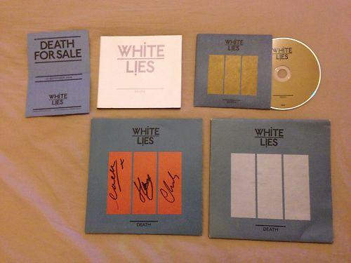White-lies-death-very-rare-signed-bundle_2672279