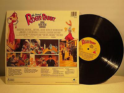 who framed roger rabbit soundtrack lp vinyl record - Who Framed Roger Rabbit Soundtrack