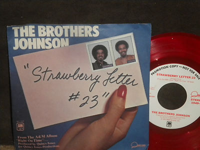 the brothers johnson strawberry letter 23 roots vinyl guide 52143